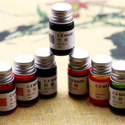 7ml Ink For Fountain Dip Pen Calligraphy Writing Painting Sightly Graffiti U8U4
