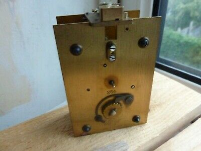 Smiths Ships Clock Movement For Spares Or Repair