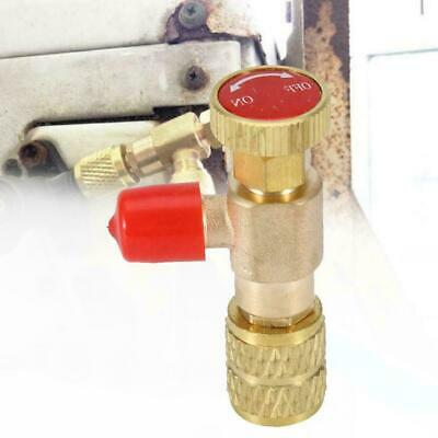 "Flow Control Valve For Refrigerant Charging Hose Air-conditioner 1/4"" -1/4"" N7O5"