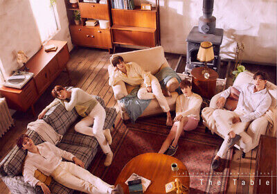 NU'EST THE TABLE Album 3 Ver SET+POSTER+PBook+First Page+Card+etc+Pre-Order+GIFT