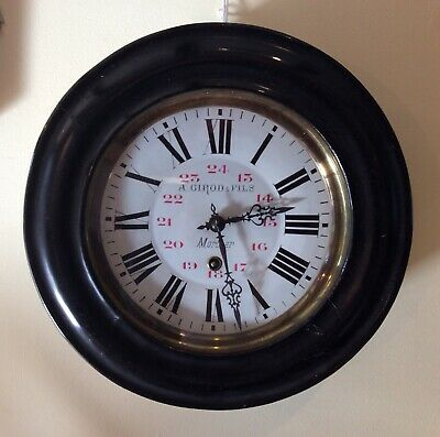 Vintage French Morbier Clock full Working order