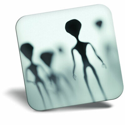 Awesome Fridge Magnet - Alien Silhouette Area 51 Space Aliens Horror Cool Gift #
