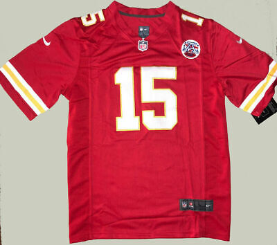 NWT Patrick Mahomes 15 Kansas City Chiefs Red Stitched Men's Jersey 2019