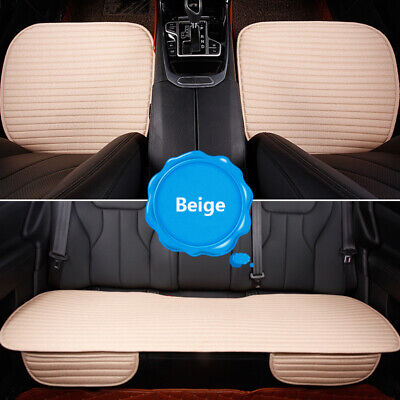 Universal Front Rear Car Seat Cover Protector Mat Warmer Front Chair Cushion Set