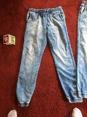 2 RELAXED JOGGING Jeans Hosen H&M 164 Top EUR 10,00