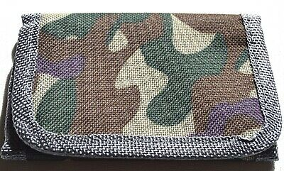 NEW Light camouflage material brown beige wallet 11x7cm boys accessories