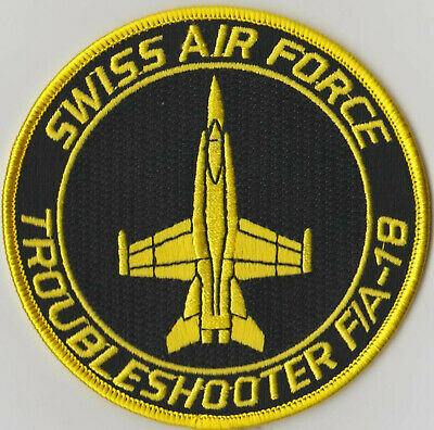 Swiss Air Force Fighter F/A-18 Troubleshooter Original