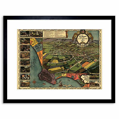 MAP ANTIQUE 1871 HARDY NEW YORK CITY FIRE DEPARTMENTS REPRO POSTER PRINT PAM1896