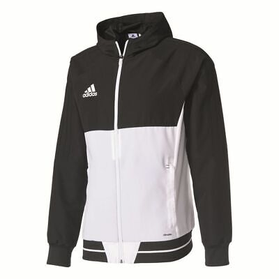 Adidas Mens Tiro 17 Football Jacket Full Zip Hooded Track Top Training Sports ..