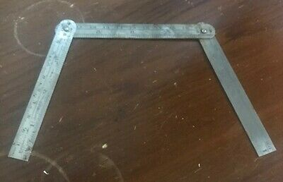 VINTAGE McPHERSONS Folding Steel Rule