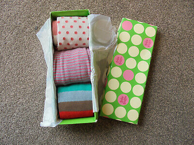 Baby Boden Tights x 3 Pairs Age 12-24 Months New & Boxed    76/6