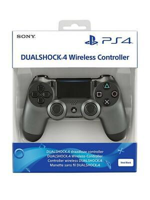 Controller Ps4 Dualshock 4 V2 Steel Black Playstation 4 Nuovo Sony