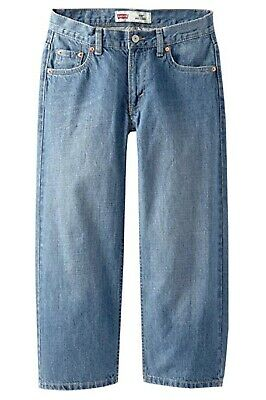 Levi's Boys 550 Relaxed Fit Jeans Catapult Size 16 Husky