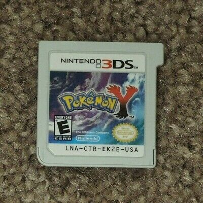 Pokemon Y (3DS, 2013) - Cart Only, Tested