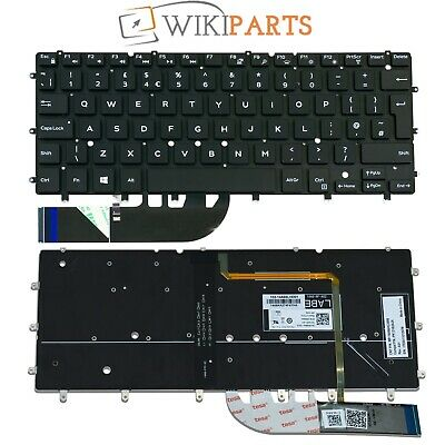 NEW FOR DELL Inspiron 7547 7548 7347 7348 Keyboard Backlit UK No Frame