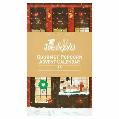Popcorn Advent Calendar Christmas Novelty Joe Seph's Treats For Kids Children