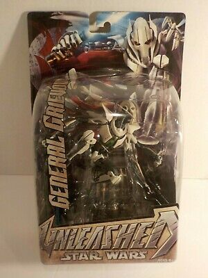 Star Wars Hasbro Unleashed Display Statue figure GENERAL GRIEVOUS NEW mOC