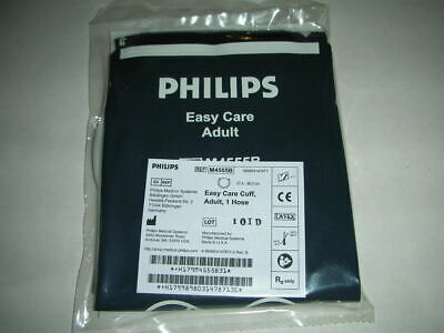 PHILIPS M4555B Adult Easy Care Blood Pressure Cuff, 27-36cm, 1 Air Hose, NEW!!