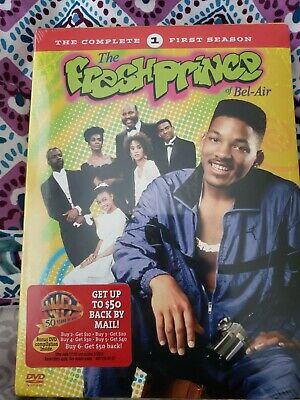 The Fresh Prince of Bel Air - The Complete First Season 1 (DVD, 4-Disc Set) NEW