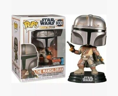 Funko Pop The Mandalorian #330 Star Wars NYCC 2019 SHARED Exclusive *IN STOCK*
