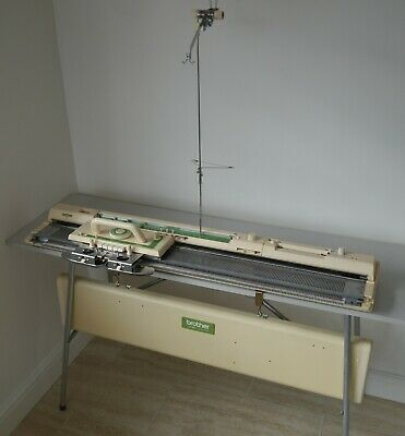 Brother KH-881 knitting machine with accessories (serviced & tested)