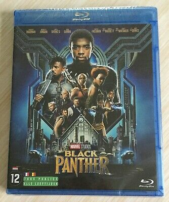 Blu Ray Film Marvel Black Panther Neuf Sous Cello