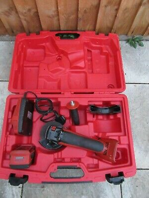 HILTI AG 125-A22 Cordless Grinder 1x5.2 Ah Batterie's And Charger 240v