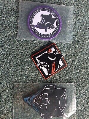 Monstercat Collector Patches UNCAGED VOL 1 VOL 2 VOL 3 NEW SEALED Dead stock