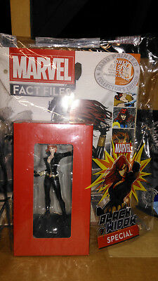 Eaglemoss, MARVEL FACT FILES, Special Issue: BLACK WIDOW Figurine