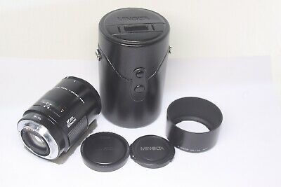 Excellent Minolta AF Macro 100mm F/2.8 Lens for Sony A Mount Made In Japan