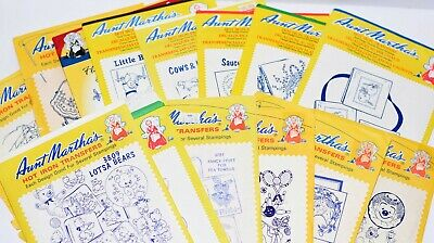 Angels on High #3887 Aunt Martha/'s Hot Iron Embroidery Transfer Pattern