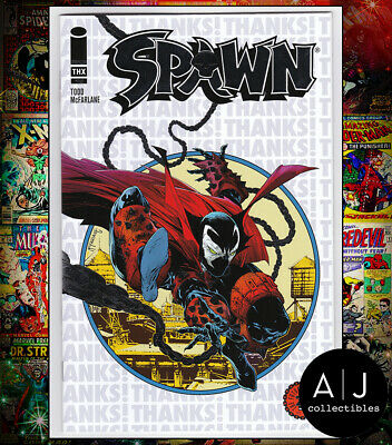 Spawn Thank You Foil Variant (A Image N) NM-! HIGH RES SCANS