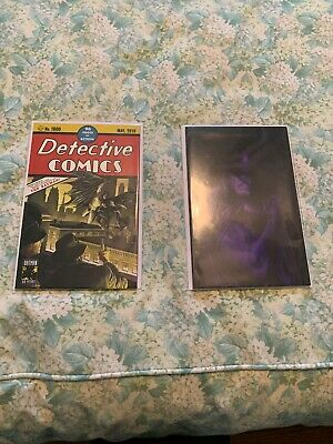 Detective Comics #1000 Alex Ross Trade-Dress & Virgin Set