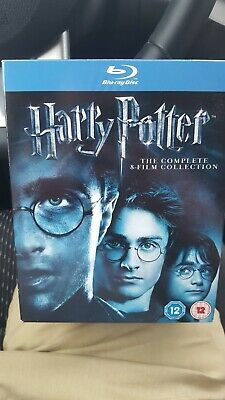 Harry Potter The Complete 8-Film Collection Set (Blu Ray 11-Disc)