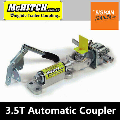 McHitch Trailer RV Caravan Off Road Coupling 3.5T Automatic Coupler
