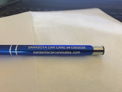 45 Promotional Personalized Laser Engraved Metal Ballpoint Custom