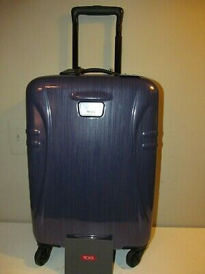 """TUMI International Cabin Approved Hard Side Carry On Spinner, 22"""" X 14"""" X 9"""" NWT"""