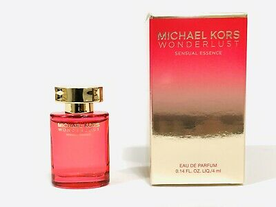 2X MICHAEL KORS wonderlust EDP eau de parfum mini splash .14