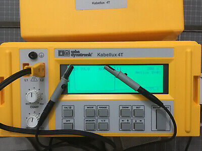 Seba Dynatronic © Kabellux 4T Cable Tester                   Cable Tester: B