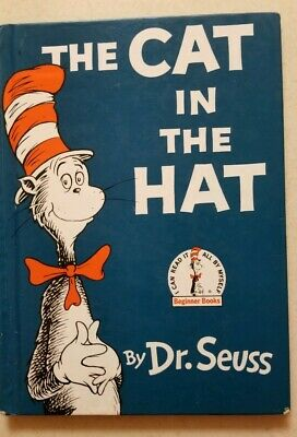 DR. SEUSS Lot of 8 Children Books Cat on the Hat, The Lorax, Green Eggs & Ham+++