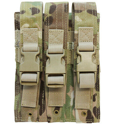 Multicam MOLLE Triple Mag Pouch 7.62mm or 5.62mm  Magazine Pouch Holster