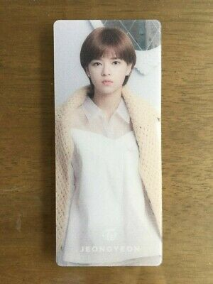 Twice Season's Greetings 2017 Official Plastic Bookmark - JEOUNGYEON