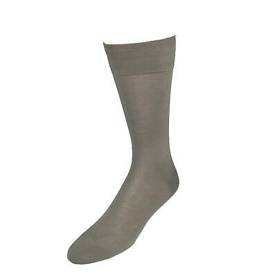 New Vannucci Men's Mercerized Cotton Solid Color Dress Socks