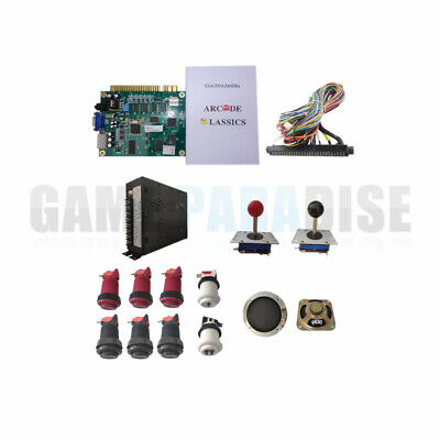 Classical arcade game 60 in 1 arcade kit with zippy joystick button jamma wire