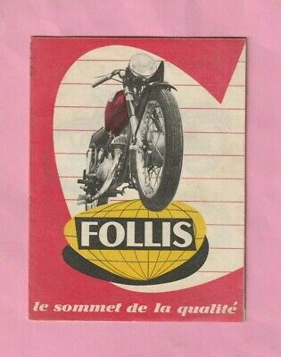Catalogue 1960 : Motos /  Cyclomoteurs  Follis  -  Lyon ( Rue Danton )