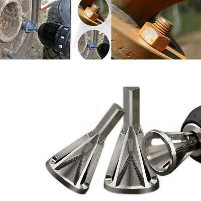 Silver Deburring External Chamfer Tool Stainless Remove Burr Tools Drill Bit New