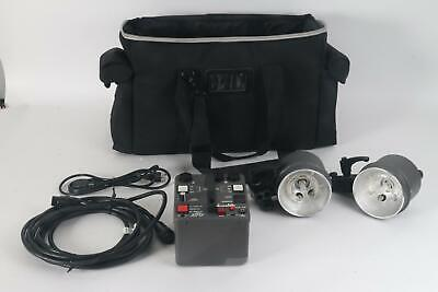 Dynalite RP800 (RP8) Power Pack W/ Two MH2050 Flash Head Kit
