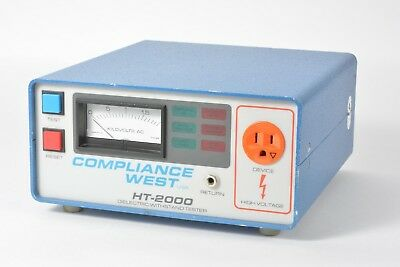 Compliance West HT-2000 Dielectric Withstand Tester - Panel Meter