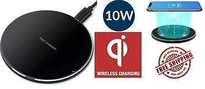 FAST Charging Qi Wireless Charger Pad Receiver For iPhone 11 XS XR 8 Galaxy 9 10