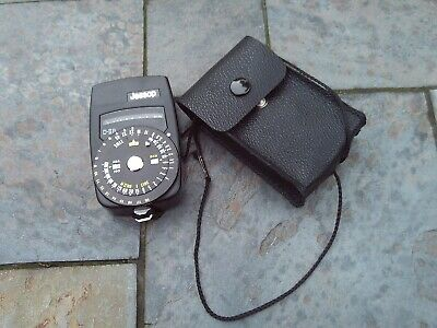 Jessop D-III B light/exposure meter model D3 with case